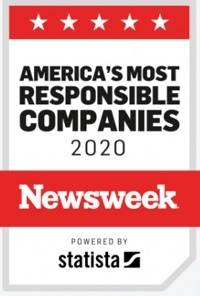 H.B. Fuller was one of Newsweek 2020 Most Responsible Companies in America.