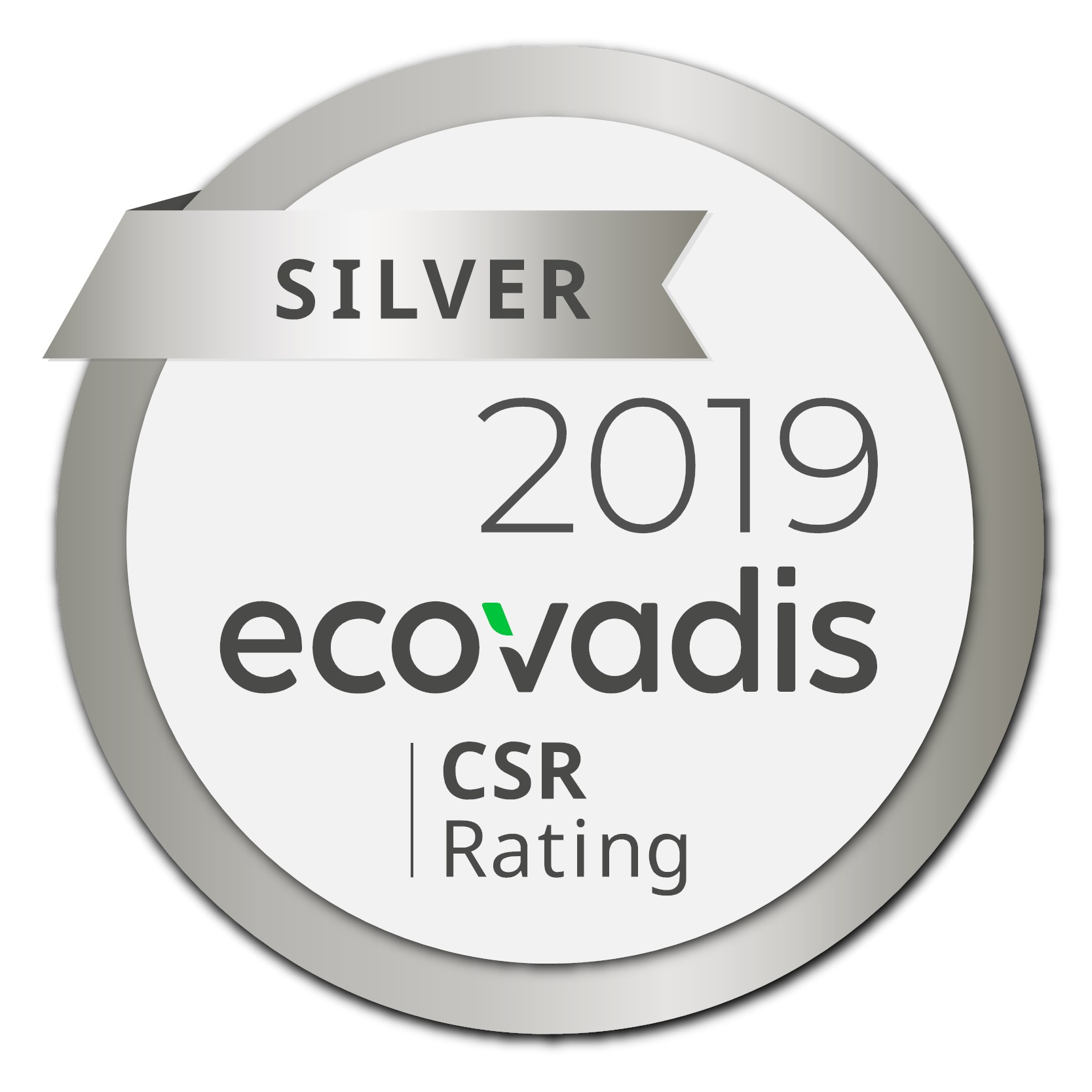 H.B. Fuller 2019 ecovadis Silver Rating